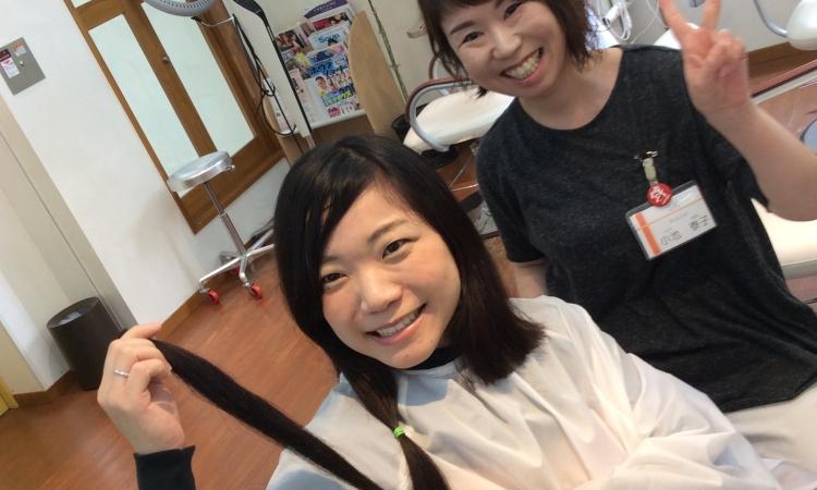 7年目の断髪式\(^o^)/